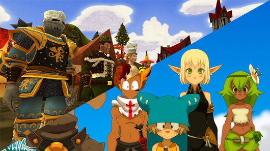 Open Beta for A Mystical Land and Wakfu