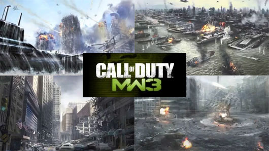 Call of Duty Modern Warfare 3 Teaser Trailers