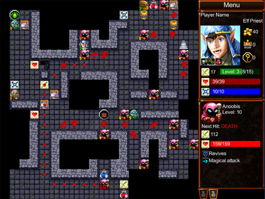 Desktop Dungeons goes HTML5