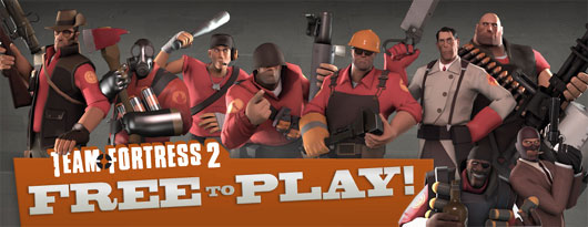 Team Fortress 2 and Steam for Linux!
