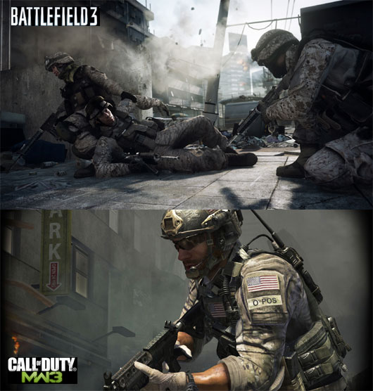 BattleField 3 vs Modern Warfare 3  The Facts
