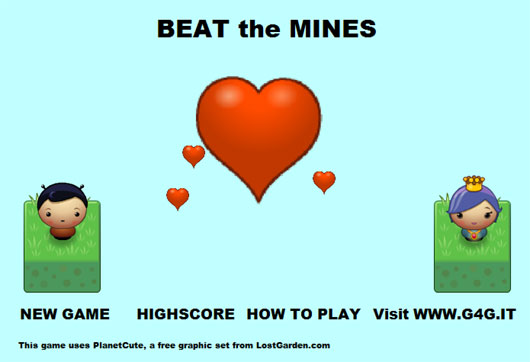 Beat the Mines  a new mini-game from G4G.IT