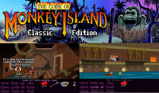 THE CURSE OF MONKEY ISLAND CLASSIC EDITION DEMO