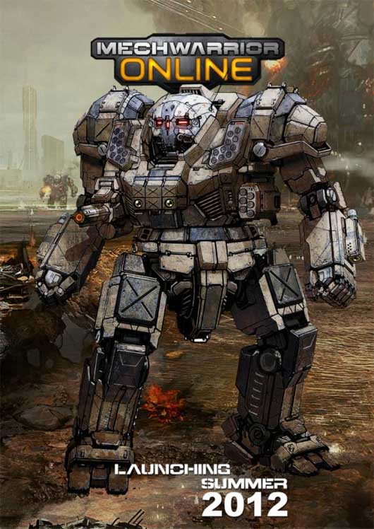 MechWarrior Online coming Summer 2012