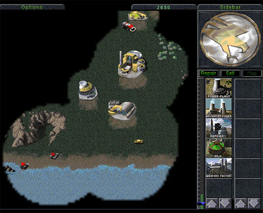Command & Conquer Game in HTML5