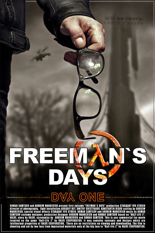 Freeman`s Days-Day One Teaser Trailer