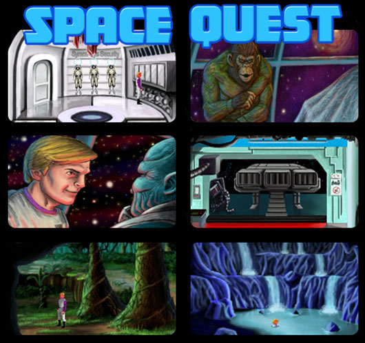 Space Quest 2: Vohaul's Revenge (remake)