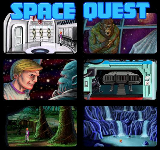 Space Quest 2: Vohaul's Revenge (remake)