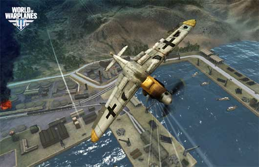 World of Warplanes Alpha Gameplay video