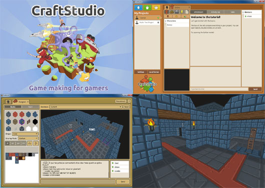 CraftStudio – Real-time collaborative game-making