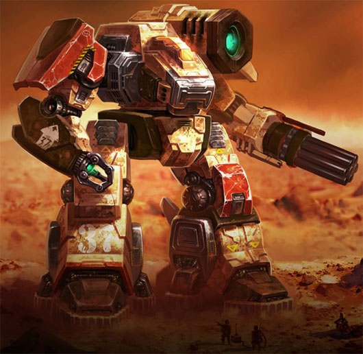 MechWarrior Tactics Gameplay Trailer