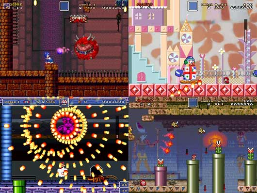 Super mario fusion revival: d-turbokiller's complete levels.