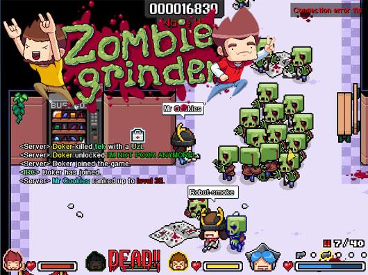 Zombie grinder Alpha