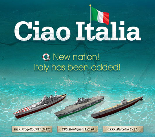 Navy Field add The Italian Royal Navy