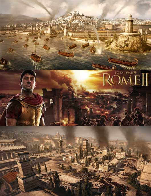 Rome rise Again in the total war series&#8230;