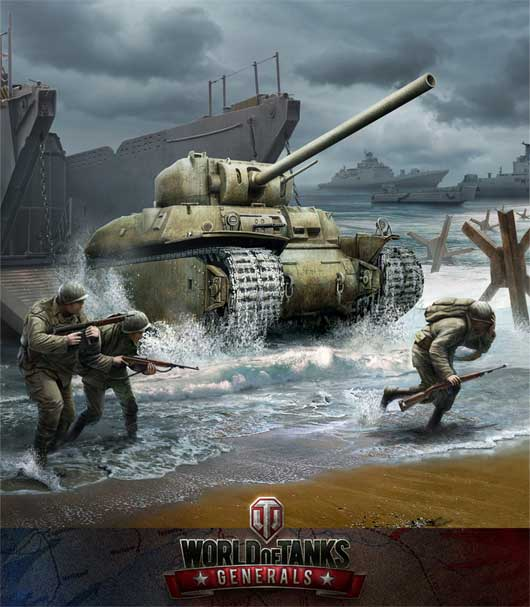 World of Tanks Generals Launched