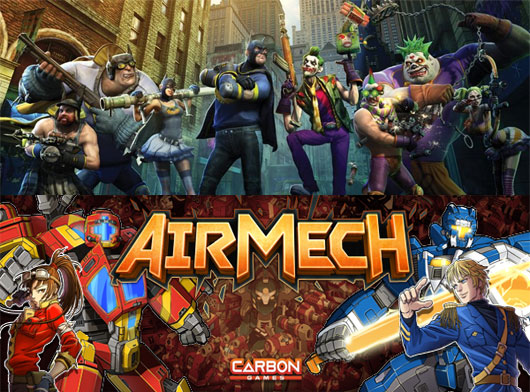 Gotham City Impostors and Airmech on Steam as Free to Play