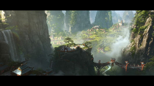 World of WarCraft Pandaria Intro CG