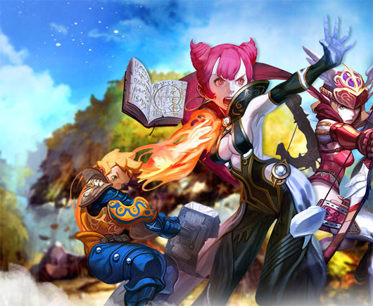 Dragon Nest landed on Europe