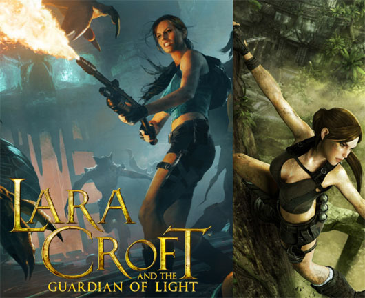 Lara Croft Guardians of Light free on Core Online