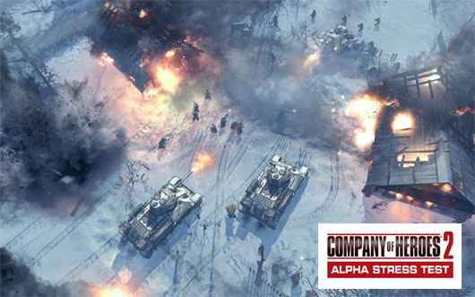Company of Heroes 2 Alpha Stress Test now LIVE!