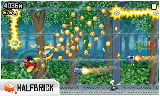 Jetpack Joyride Available for Free