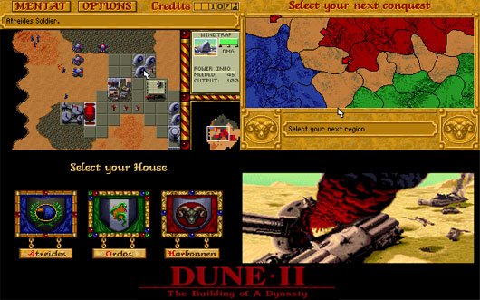 Play Dune 2 in a Browser