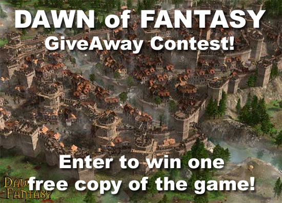 Dawn of Fantasy: Kingdom Wars Contest Giveaway!