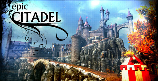 Epic Citadel – Unreal Engine Benchmark in the Browser