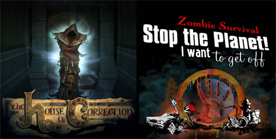 Stop the Planet: Zombie Survival and The House of Correction