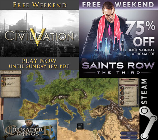 Free WeekEnd on Steam!