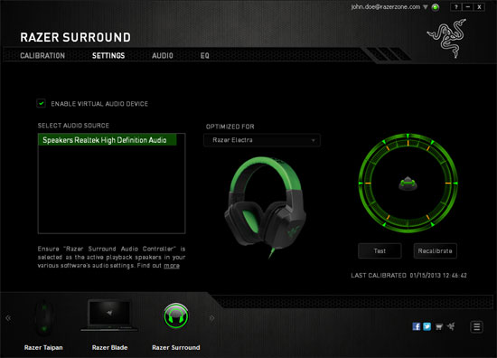 Razer Surround free until 31st December 2013