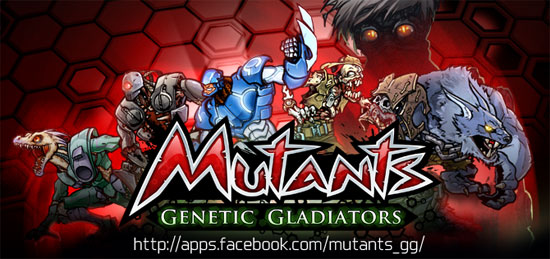 Mutants Genetic Gladiators (Facebook)