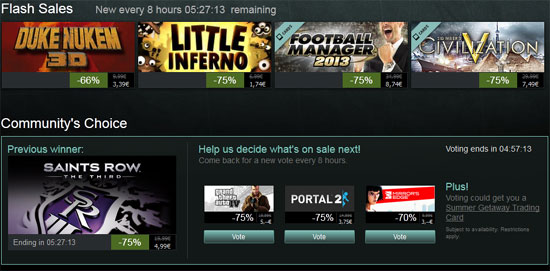 Steam Summer Sale 2013