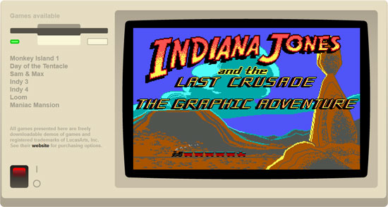 Classic adventures game in HTML5