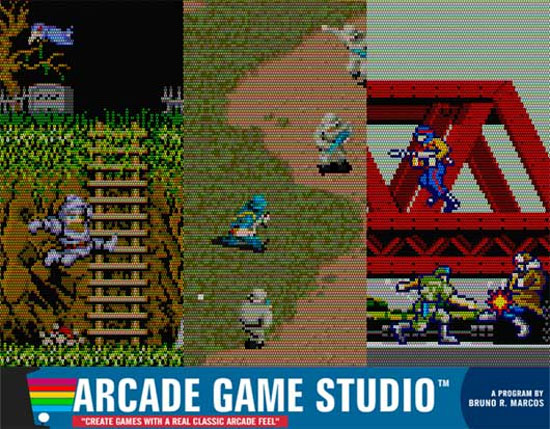 Arcade Game Studio is now Freeware