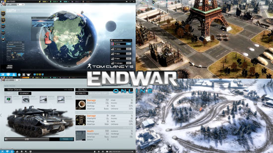 Tom Clancy's End War Online Announced
