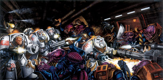 SPACE HULK DEATHWING announced