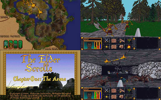 the elder scrolls arena download