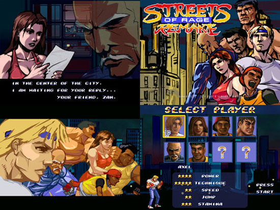 Street of Rage Remake for Mac OS X and Linux