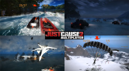 Just Cause 2 Multiplayer Mod