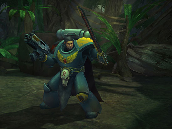 Warhammer 40,000: Space Wolf Announcement Trailer and Screenshots