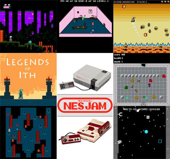 NES Jam 1 Gamepack