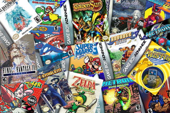 Play Gameboy Advance Games in the Browser
