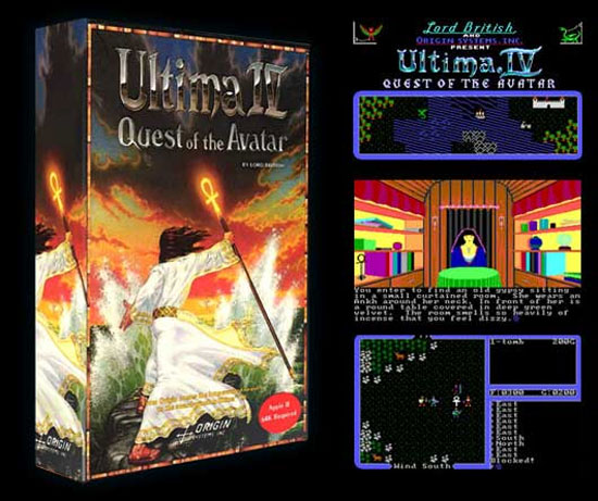 ULTIMA IV Quest of the Avatar Flash Version