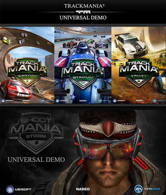 TrackMania² Universal Demo and ShootMania Storm Universal Demo