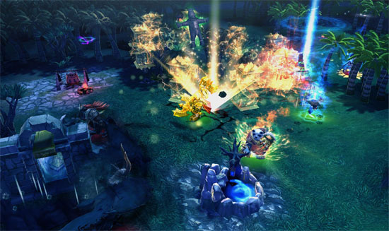 Chaos Heroes Online Announced