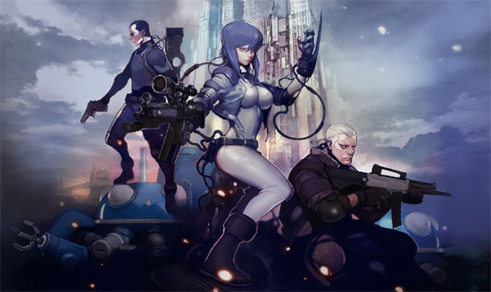 Ghost in the Shell Online Trailer