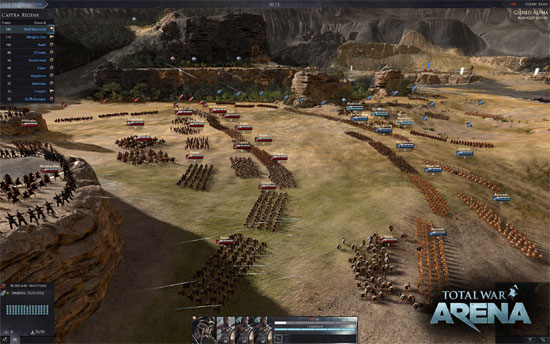 Total War Arena Closed Alpha and Screenshots