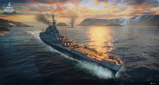 World of Warships First Gameplay Video